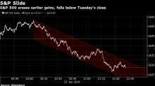 Stocks Drop as Growth Jitters Halt Earnings Rally: Markets Wrap