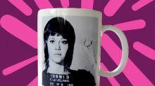 Jane Fonda Made Merch Using Her Mugshot