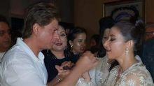 Manisha Koirala celebrates her birthday with Rekha, SRK and Manish Malhotra
