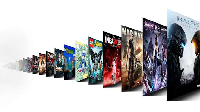 Xbox's Game Pass offers 100 titles starting June 1st