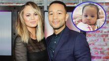 Chrissy Teigen Offers Tour of $14 Million Beverly Hills Mansion With a Baby Luna Cameo!