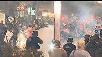 Gunshots, Tear Gas Fired in Ferguson