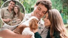 Pregnant Bindi Irwin's 'tears of joy' after telling husband Chandler