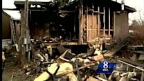 Man says he was working on sermon when fire started