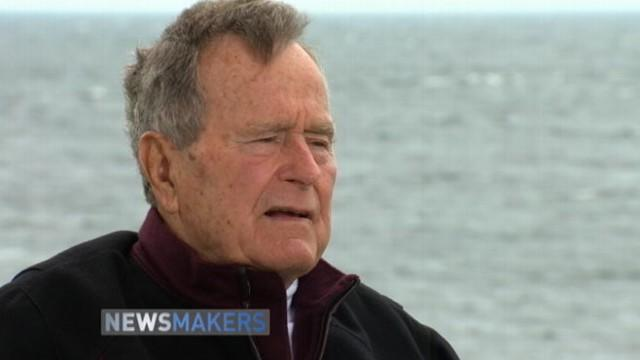 President George H.W. Bush on Life and Politics Today