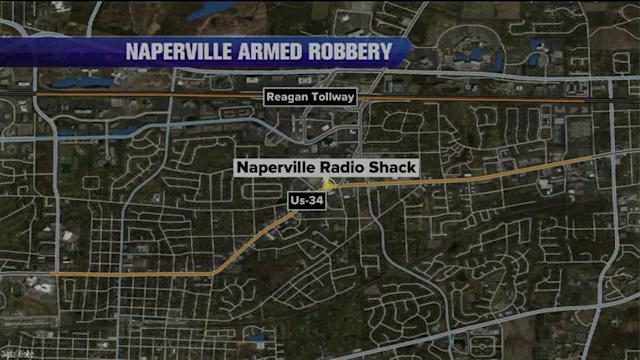 RadioShack robbers lead police on high-speed chase