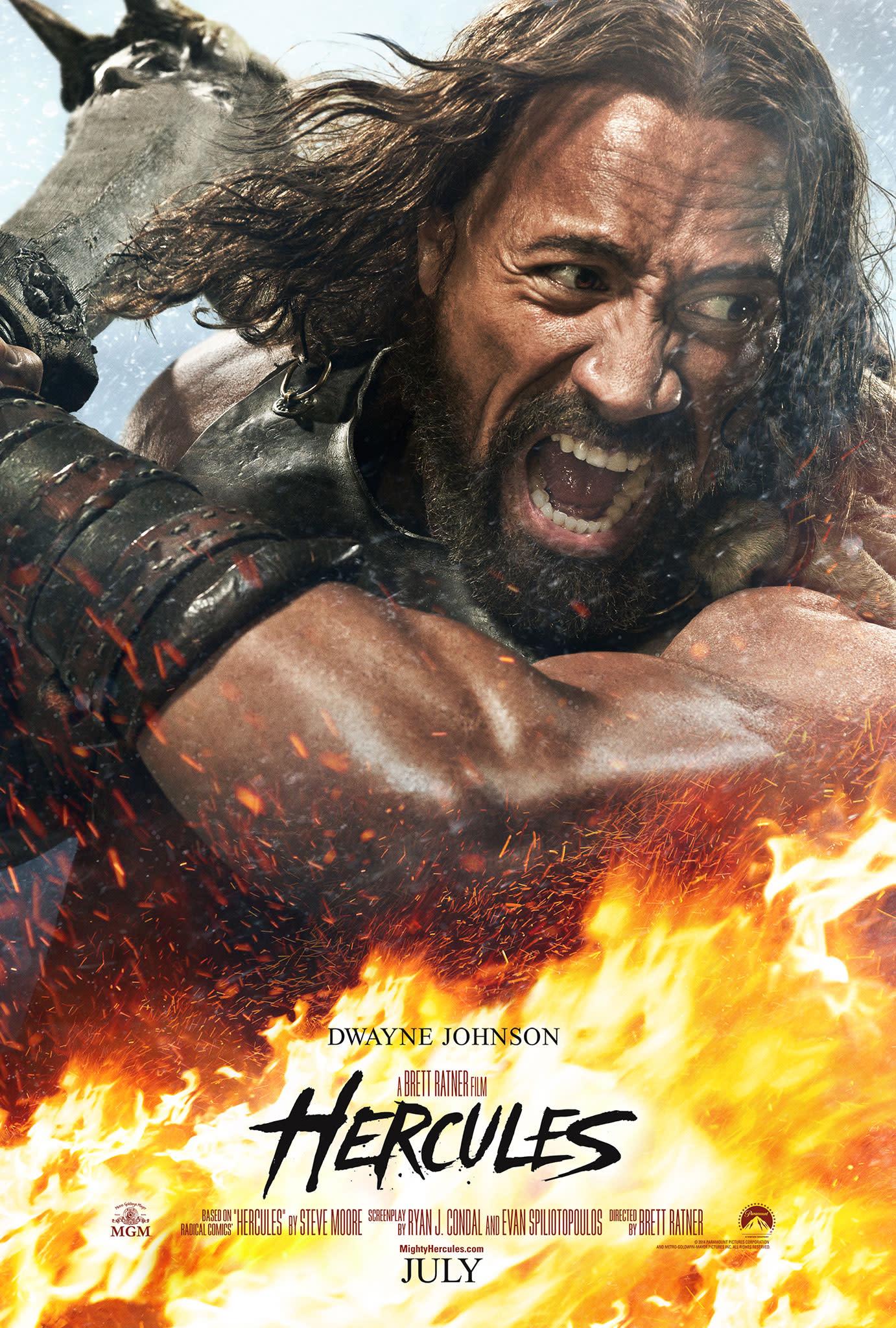 Dwayne Johnson Proves He IS \'Hercules\' in First Teaser Trailer