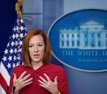 White House press secretary Jen Psaki says Biden doesn't want to 'fight' Fox News after Trump 'completely destroyed trust in media' and institutions