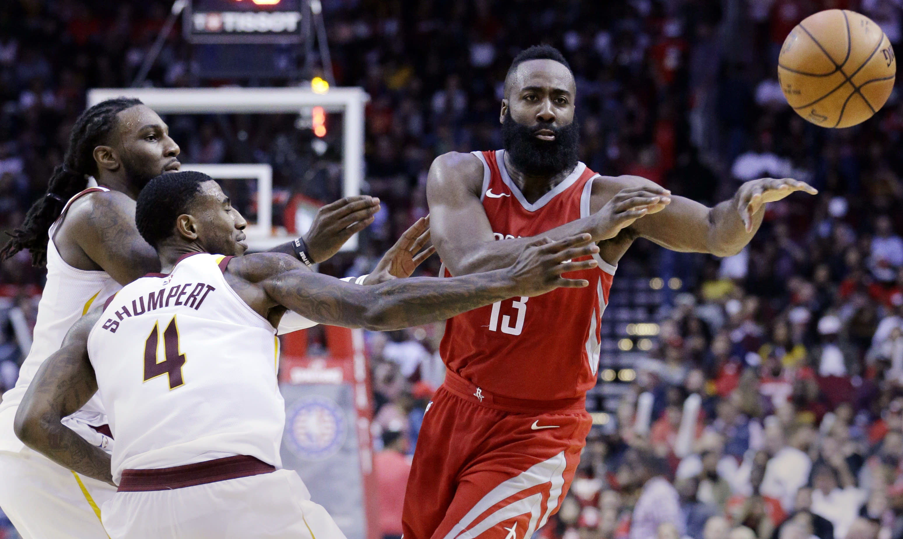 8c2f7943825e Adidas pledges  100 to Hurricane Harvey Relief for every assist by James  Harden
