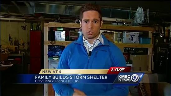 Spring Hill family installs new home storm shelter