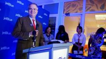 JetBlue sticking with seat caps into next year, CEO says