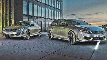 PEUGEOT發表品牌史上性能最強道路用車508 PSE,電動房車與旅行車同步登場最大馬力355