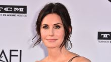 'It was right here': Courtney Cox reveals coronavirus scare