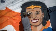 Rio favela residents march in memory of slain activist
