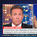 Chris Cuomo on former Overstock CEO's wild claims: 'I've never heard anything like this'