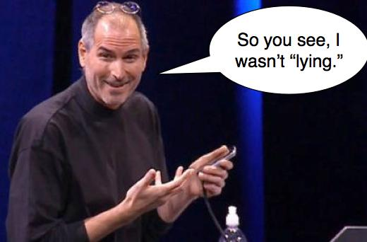 """Can you trust a Steve Jobs email? """"Nope."""""""