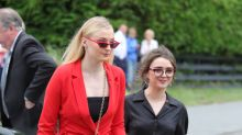 Did Sophie Turner forget to wear pants to 'Game of Thrones' co-stars' wedding?