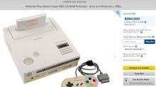 The Morning After: You can finally buy a 'Nintendo PlayStation' prototype