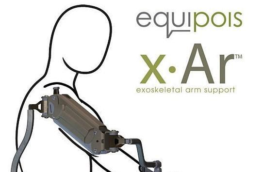 x-Ar exoskeleton arm keeps repetitive tasks from doing you harm (video)