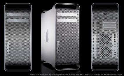 Apple's Mac Pro case, same as the old case (almost)
