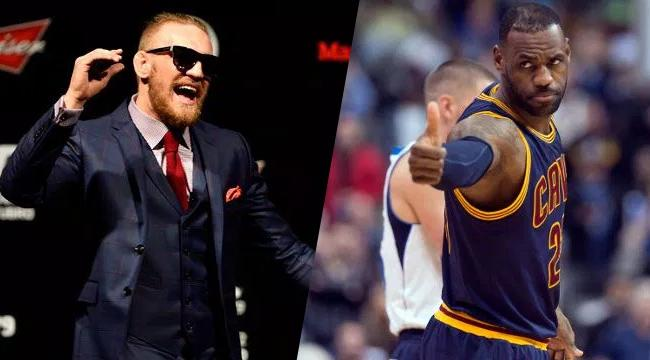 LeBron James Shares The Conor McGregor Quote That He's