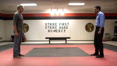 Karate Kid stars reunite in new sequel series trailer