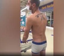 Coronavirus: Man tries to shop in underpants in protest at clothes being deemed 'non-essential' in Wales
