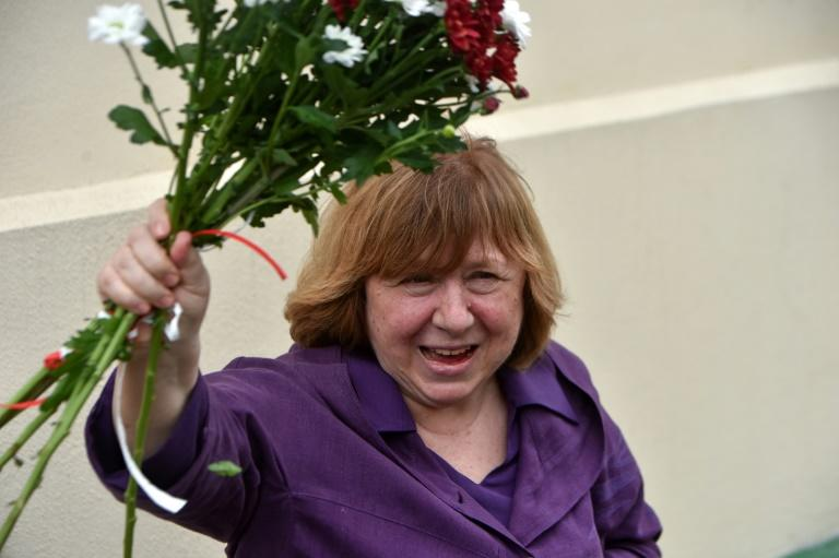 Nobel Literature Prize winner and the opposition member Svetlana Alexievich was summoned for questioning