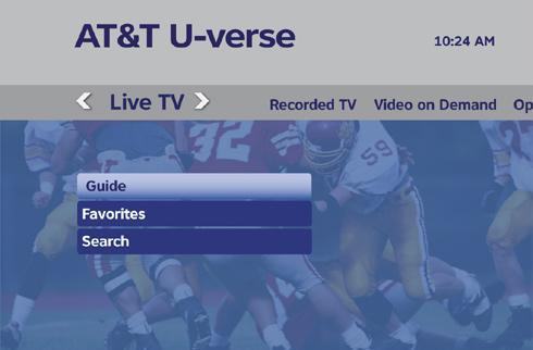 AT&T strings U-verse TV to Columbia, South Carolina