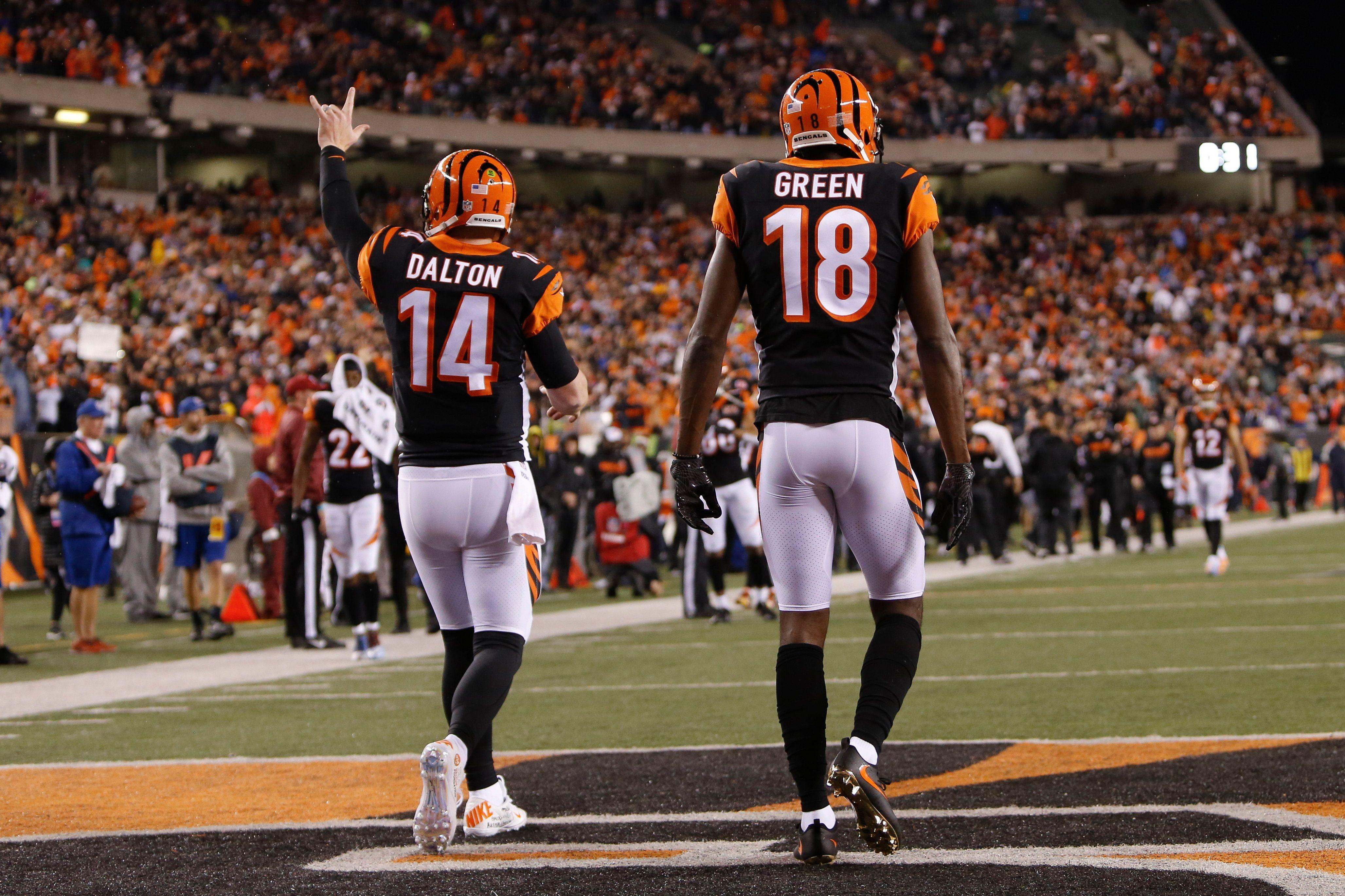 low priced 31fe3 e3631 Mike Brown thinks Bengals will sign A.J. Green, but isn t sure about Andy  Dalton