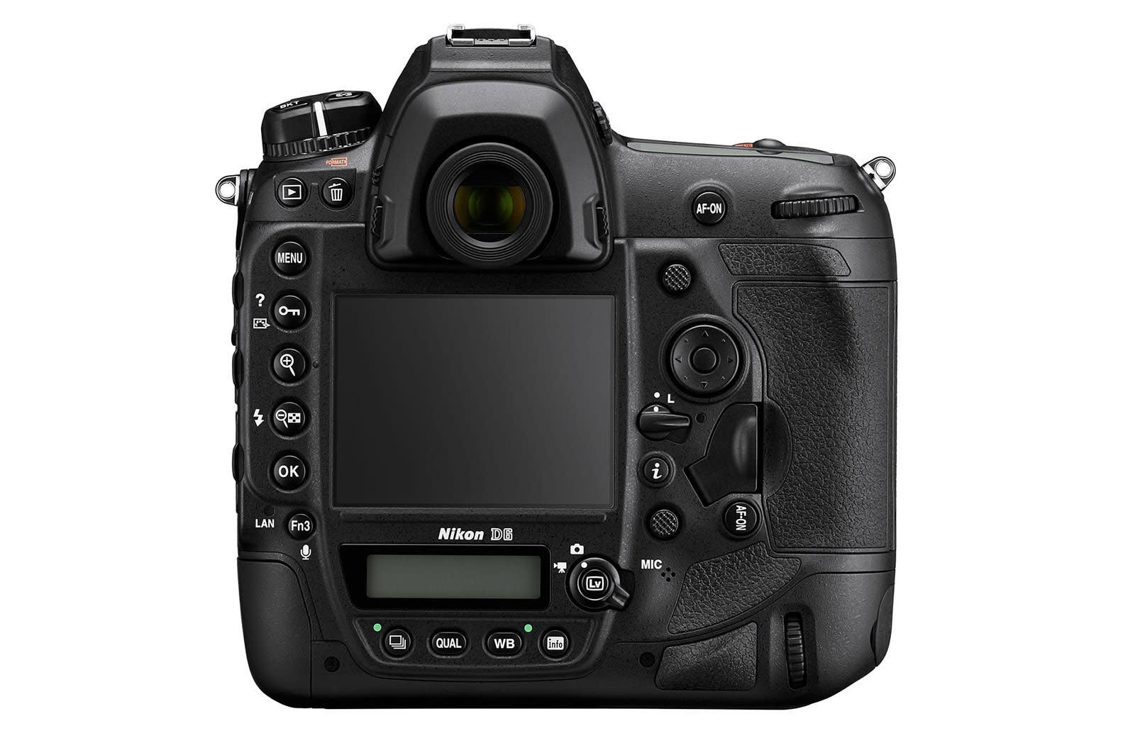 Nikon D6 professional full-frame FX format DSLR