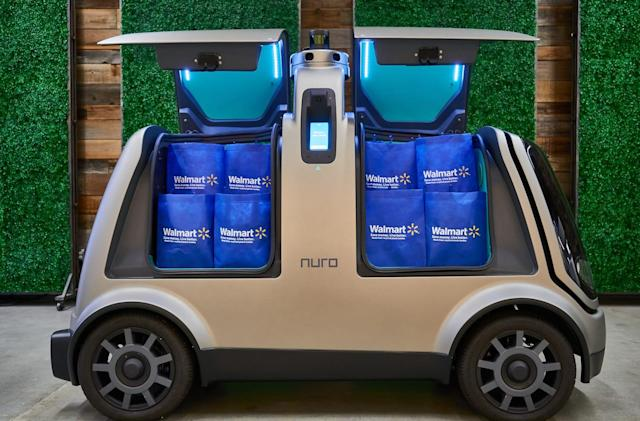 Walmart will test driverless grocery deliveries in Houston