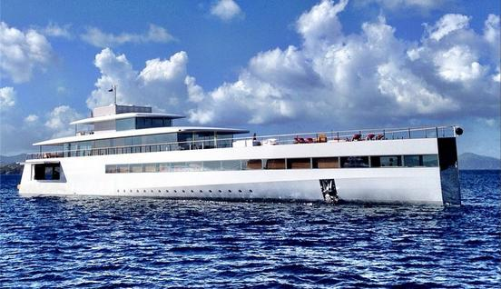 Steve Jobs' supervillain yacht is chilling in the British Virgin Islands (not New England)