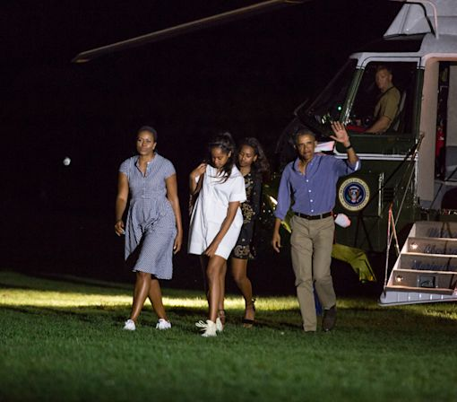 The first family's summer vacation at Martha's Vineyard