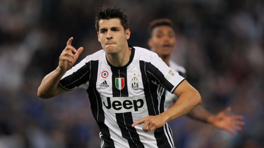 Com'era l'11 della Juventus l'ultima volta che Morata è sceso in campo