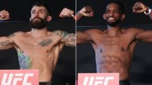 UFC on ESPN 20 official weigh-in highlights, faceoffs and photo gallery