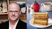 Heston's full English breakfast sarnie divides opinion: 'Who wants coffee in their sandwich?'