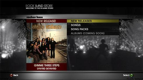 New Rock Band Store reminds us full albums are still 'coming soon'