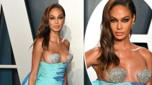 Joan Smalls bares all in Ariel-inspired Oscars dress