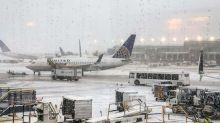 American Airlines flight slides off icy runway during snowstorm in Chicago