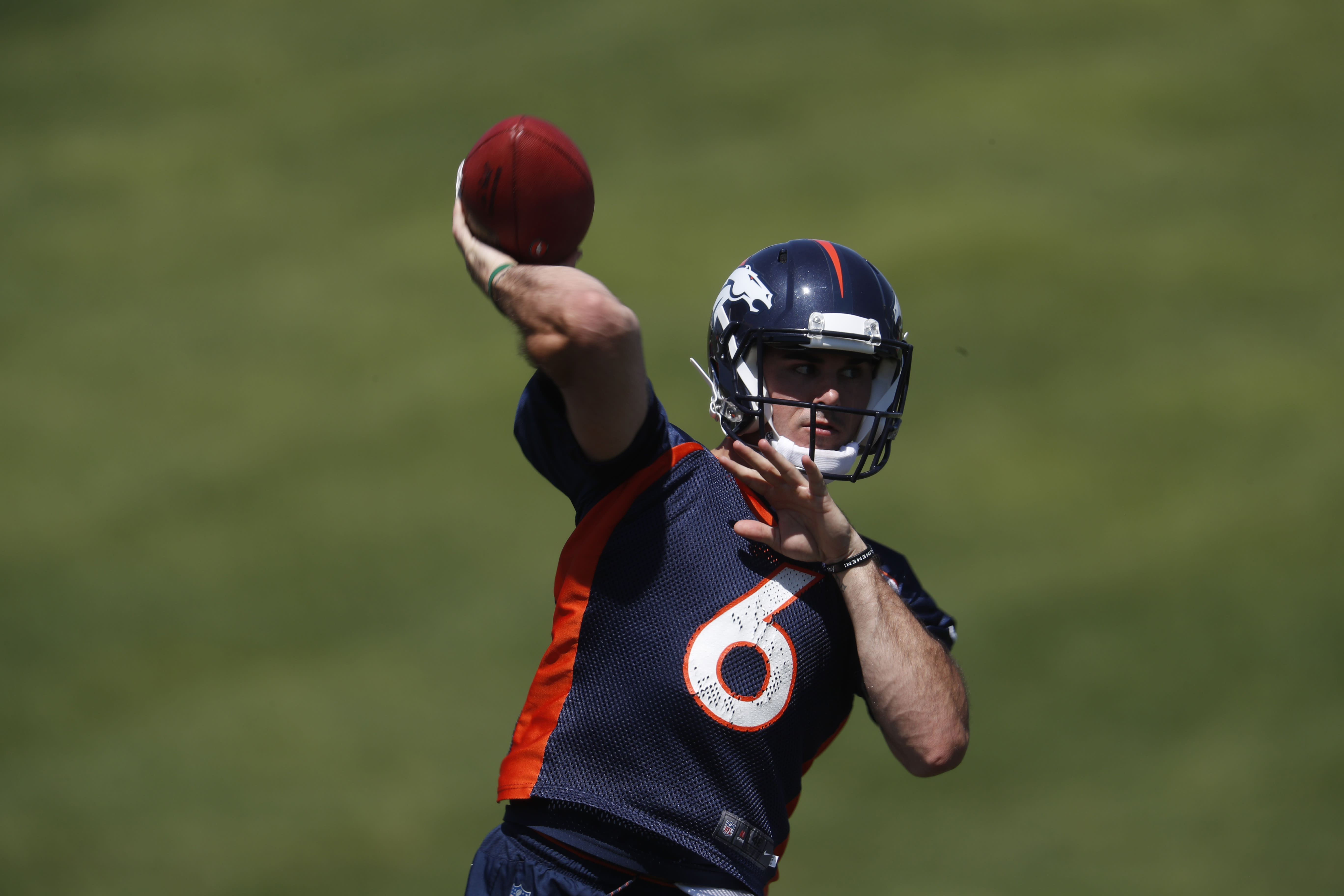 premium selection 05b85 656ae QB Chad Kelly released by Broncos after arrest
