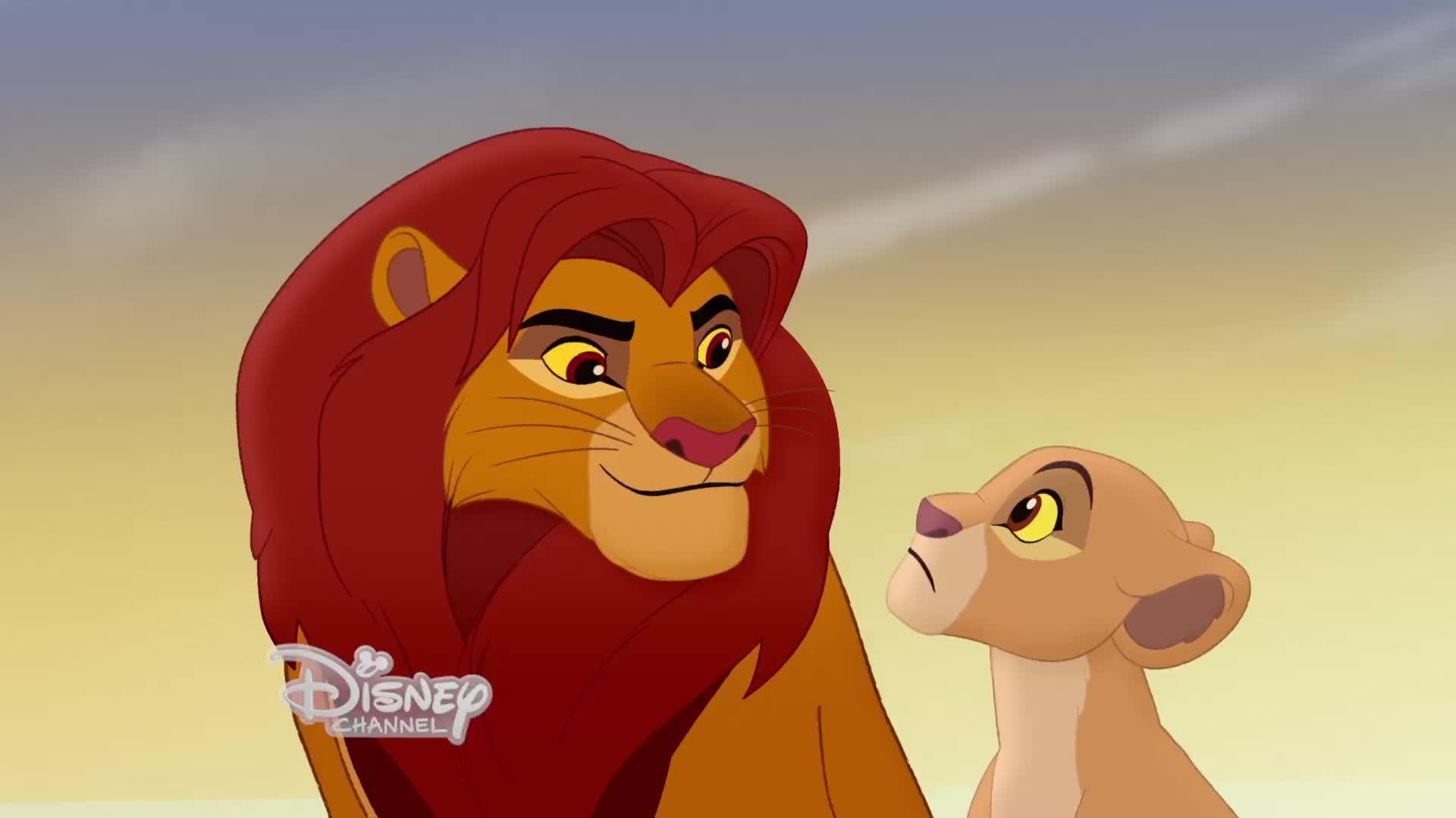 The Lion Guard First Look Rob Lowe Gets Animated As Simba Video