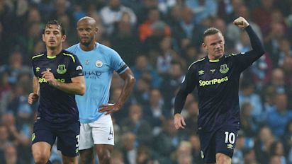 Manchester City vs Everton, Premier League: live score updates