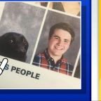 Virginia high school features student's dog in yearbook for a touching reason