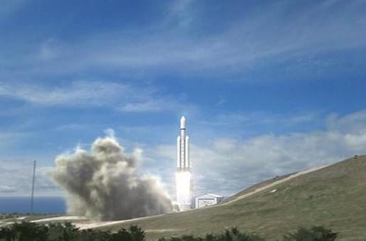 SpaceX reveals plans for world's most powerful rocket, the Falcon Heavy