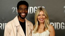 Sienna Miller remembers Chadwick Boseman and 'astounding' way he got her paid fairly on '21 Bridges'