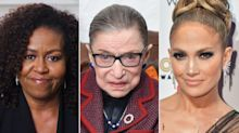 Michelle Obama & Jennifer Lopez Remember 'Friend' Ruth Bader Ginsburg — and Her Marriage Advice