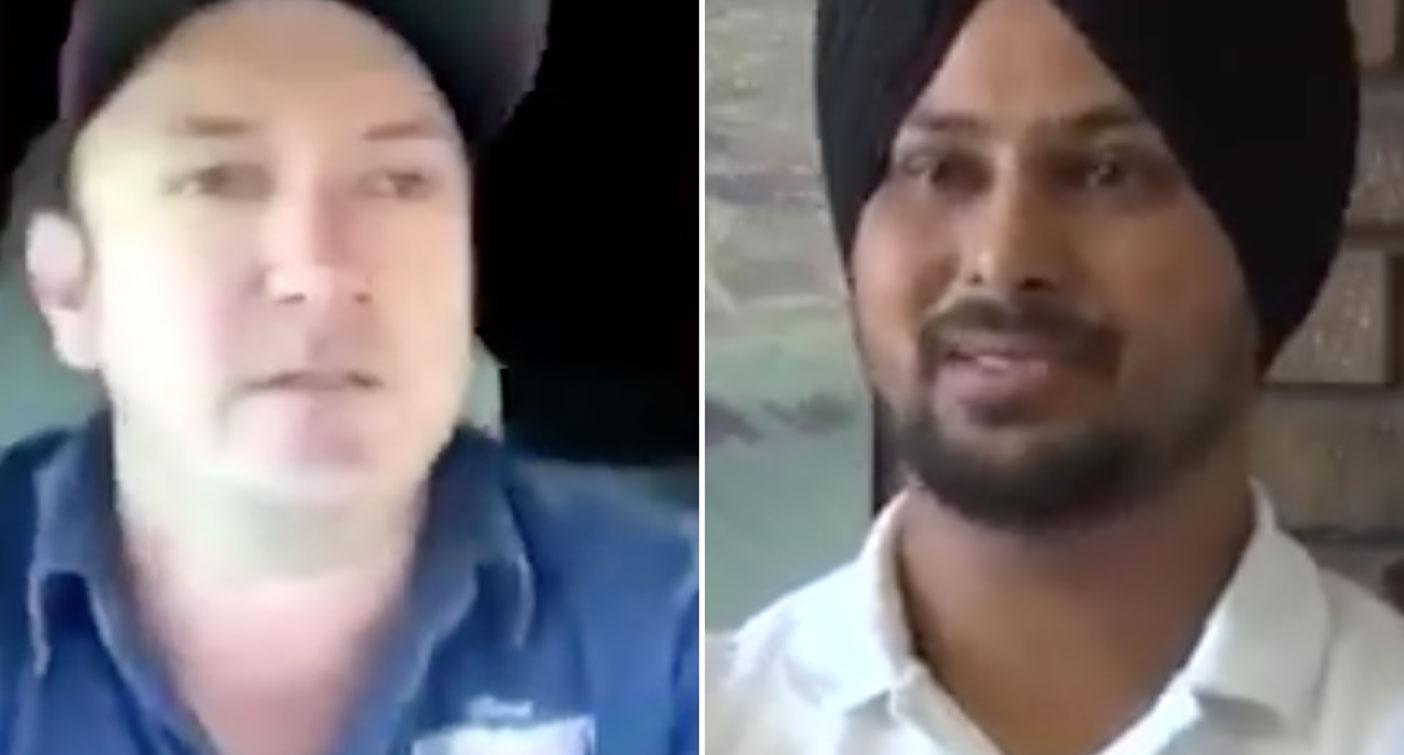 Man targeted in truckie's racist tirade hits back