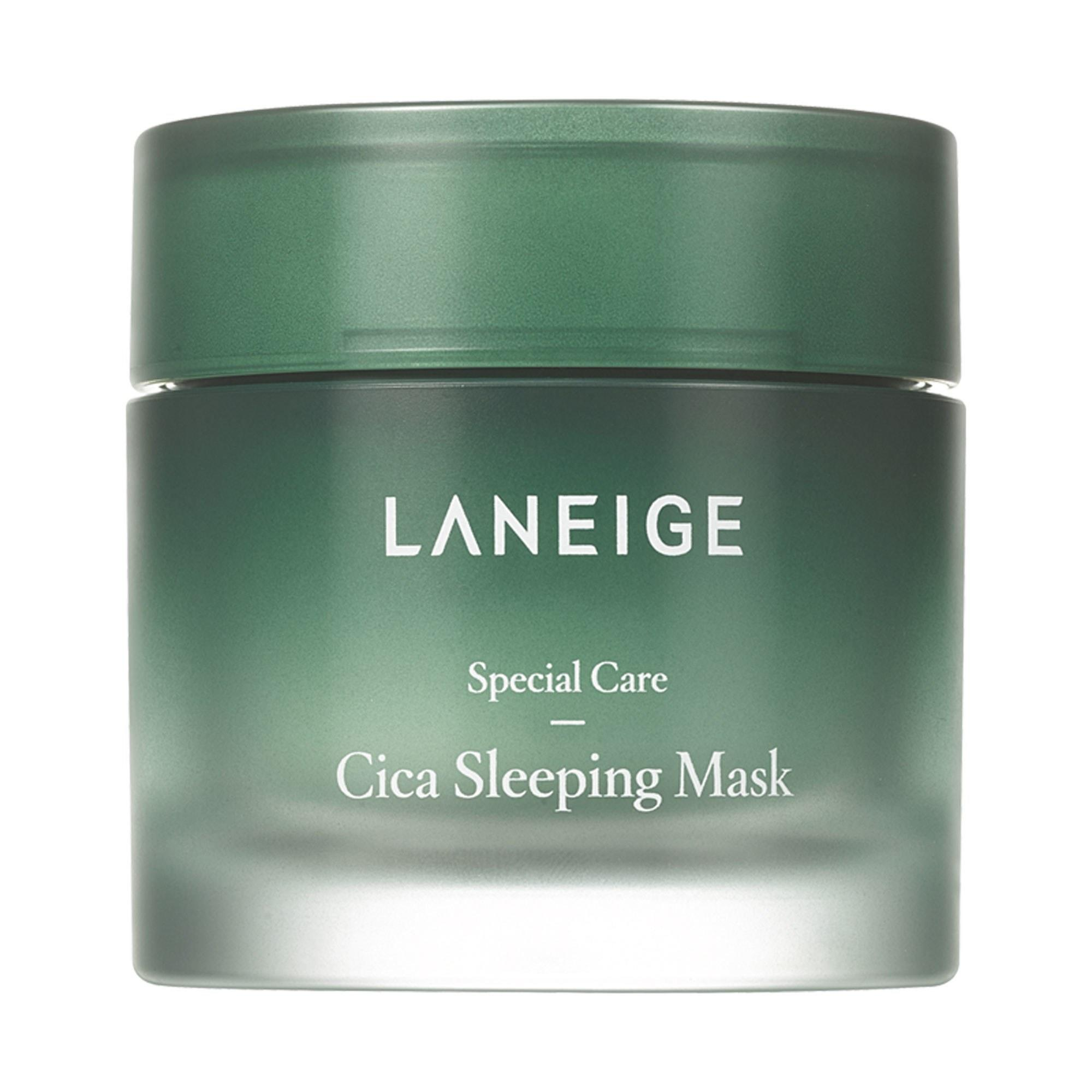 "<p>Exclusive to new K-beauty e-tailer Akoco, Laneige's Cica Sleeping Mask combines <a href=""https://www.allure.com/story/what-is-cica-ingredient-korean-beauty-skin-care?mbid=synd_yahoo_rss"" rel=""nofollow noopener"" target=""_blank"" data-ylk=""slk:skin-strengthening cica"" class=""link rapid-noclick-resp"">skin-strengthening cica</a> with soothing squalane, shea butter, and tea tree leaf oil. It feels like a cool cloth to the skin on a hot day, and after just one night's use, skin looks smooth, plump and super-moisturized.</p> <p>$32 (<a href=""https://akoco.com/collections/laneige/products/laneige-cica-sleeping-mask"" rel=""nofollow noopener"" target=""_blank"" data-ylk=""slk:Shop Now"" class=""link rapid-noclick-resp"">Shop Now</a>)</p>"