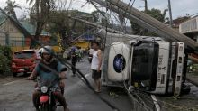 Typhoon kills 3 in Philippines, hundreds of flights halted